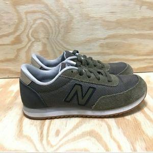 New Balance 501 Olive Green Suede KL501V1Y